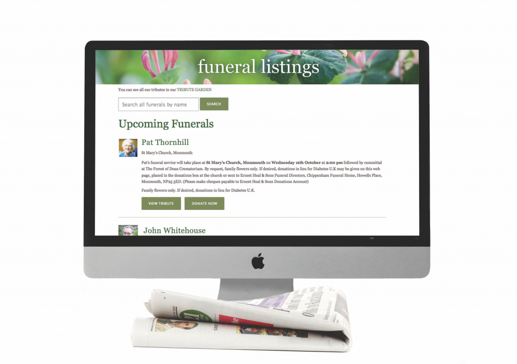 Funeral Annoucements